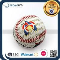 Screen printed baseball color baseball PVC promo baseball