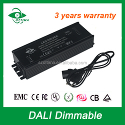 300ma 10w constant current DALI dimmable led driver waterproof IP67
