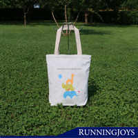 Runningjoys 2015 New Design Folding Canvas tote Shopping bag