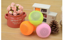 Hot Mushroom Wireless Bluetooth Speaker Waterproof Silicone Sucker Hands Free Speakers For Apple & Android Devices PC Computer