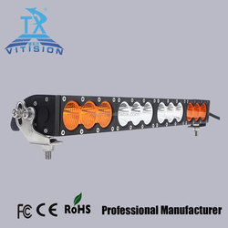 NEW products 30W 6inch yellow and white color light led light bar top quality