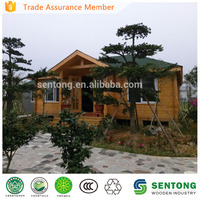 70 M2 prefabricated wooden house for Leisure STW035