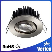 Healthy led downlights, CRI97 8W Anti-glare COB downlight CE, ENEC certifications