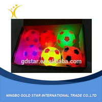 Football Shaped LED children Bouncy Balls