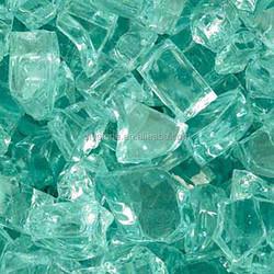 Glass Rocks Blue Color 10MM-80MM