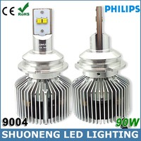 Philips Lumileds 11V 30V 9000lm 90W 6000K Conversion Kit 9004 LED Headlight for Car