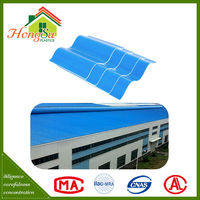Professional manufacturer 2 layer corrosion resistance wavy roof tile