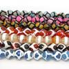 AB0129 Wholesale Faceted Tibetan Dzi Beads,Tibetan Agate Dzi Beads