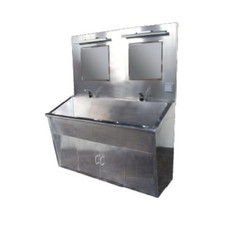 manufacturer medical Stainless steel washing trough with sensor C13