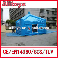 good quality small cube advertise inflatable clear tent with rooms