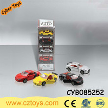 Alloy miniature model car free wheel die-cast metal toy car in window box
