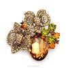 Rhinestone brooch pin, butterfly brooch ,wedding brooch(swtaa1458)