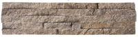 china gold supplier natural orange quartz stone ledge stone corner for landscape