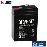 6v 4ah mf deep cycle agm battery with great power