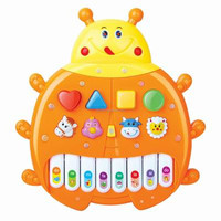 Chenghai Toy Plastic Electronic Organ Insect Musical Toy