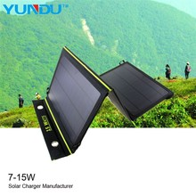 Foldable 15W Solar phone charger for samsung galaxy s4 mini New Product 2015 Technology