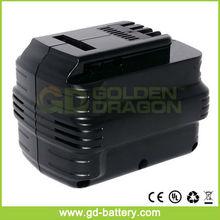 Taladro de martillo sin cuerda, Batería de herramientas para Dewalt 24 V DE0240-XJ DW0240 DC222KA DC222KB
