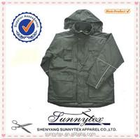 Sunnytex padded reflective piping waterproof mens windbreaker jacket