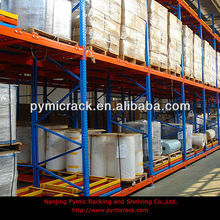heavy duty euro pallet cold storage push back racking