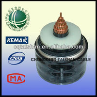 EHV State Grid 500kV Cu Core,XLPE Insulated Corrugated Aluminum Sheathed High Voltage Cable solid copper conductor cable