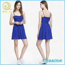 High Quality Girls Summer Clothing Daily Wear Sundress Wholesale