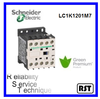 LC1K1201F7 TeSys telemecanique schbneider coil 110vac electrical contactor