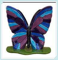 Hand painted ceramic butterflies for garden
