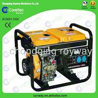 Factory Provide Open Type Electric Start Single Phase 3kw diesel generator