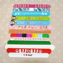 Fashionable colorful silicone snap band