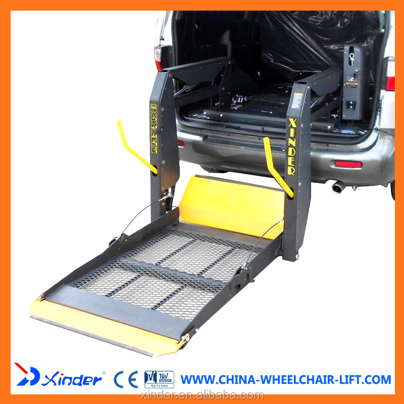 Hydraulic Wheelchair Lift : Wl d u hydraulic wheelchair lift for van and minivan