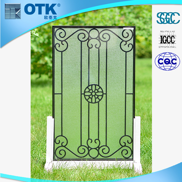 Decorative Floral Glass Shower Door Doors Shower Enclosure Glass View Glass Flower Decor Wall Art Shower