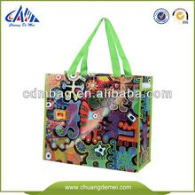 fancy matt laminated shopping bag