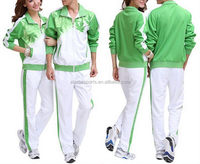 Excellent quality hot sale nylon tracksuits for women/men