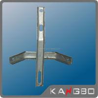 Easy insulation overhead line galvanized steel welded angle bracket