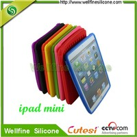 Silicone protective Cover for mini Pad ,silicone case for table pc pad