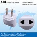 Enchufe estándar Americano, convertidores estándar Americano, enchufes conversión universal