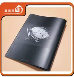 custom retail varnish top quality advertisement magazine
