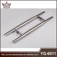 Glass door handle in high quality can provid free sample