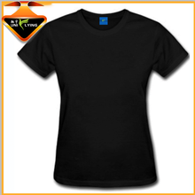 Slim fitted 100% polyester wholesale blank t-shirts for men