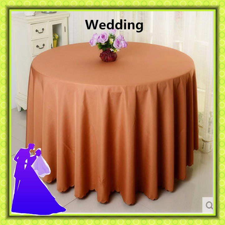 70 인치 폴리 에스테르 호텔 보라색 테이블 천으로 중국-테이블에 ...