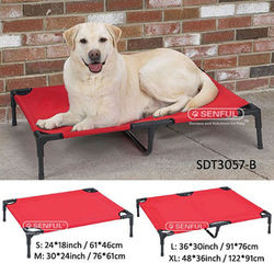 Elevated Raised Outdoor Dogs Cot Bed