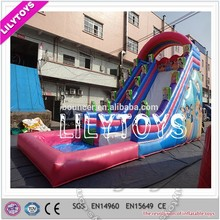 Lilytoys directly customized princess water slide giant for children
