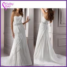 Cheap Prices!! OEM Factory Custom Design wedding dress 2015 organza