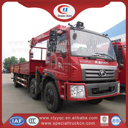 Foton Rowor 6X2 10 tons Telescopic Boom Truck Mounted Crane for Sales