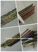 camo de tiro con arco de la superficie del eje de la flecha, derecho offset de tiro con arco y flecha