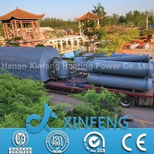 XF-10 50% High oil yield China manufacture waste tyre recycling machine