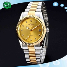 Winner Brand Two Color Stainless Steel Automatic Watch Movement