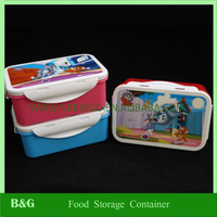 food storage container with divider