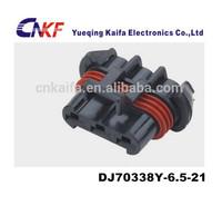 delphi 3 pin 6.5 series female waterproof plastic electric plug DJ70338Y-6.5-21