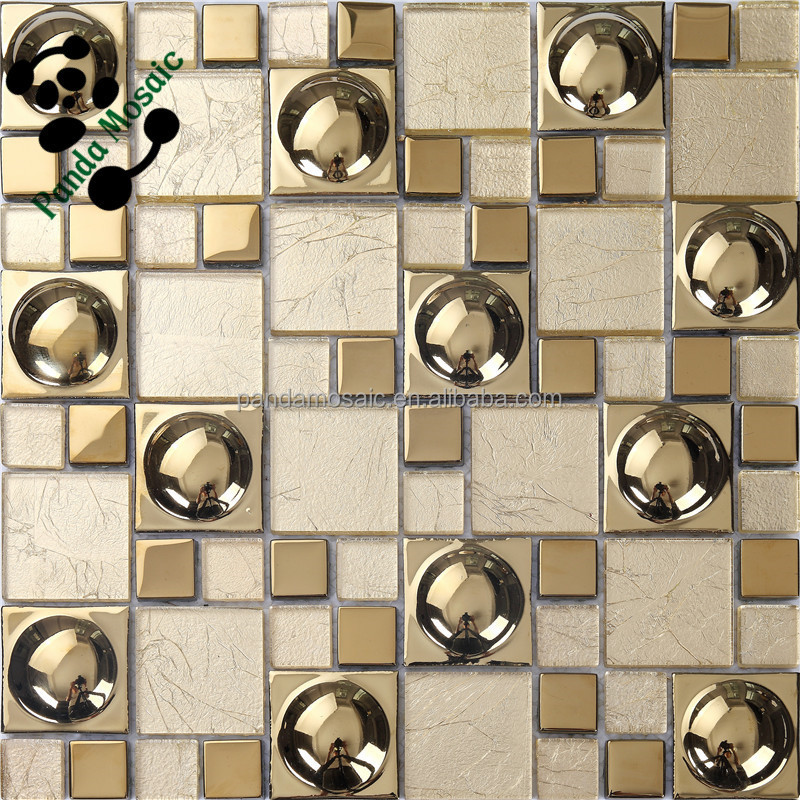 Smg Hot Sale And Special Antique Electroplate Copper Mosaic Tile - Ceramic tiles mosaics for sale